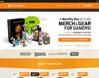 Web Design - CrateMerch