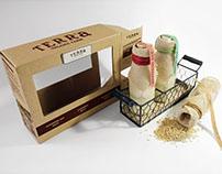Terra Organic Farm Rice Pack - Package Design