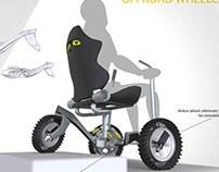 Off road wheel-chair