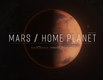 Mars Home Planet - Rendering Challenge (Animated GPU)