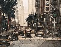 Watercolor Cities 2
