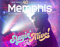 Memphis magazine: Covers & Spreads