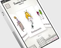 Concept iPhone app