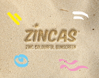 ZINCAS colourful sunscreen lotion