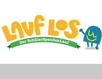 Lauf los - der Schülerspendenlauf Logo