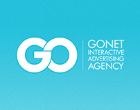 """Gonet Interactive Advertising Agency"" Interface Design"