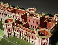 "Architectural model ""The Grande Palace Tsaritsyno"""