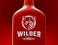 WILDER Logo & design bottle