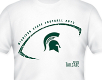 2012 Spartan Tailgate Shirt
