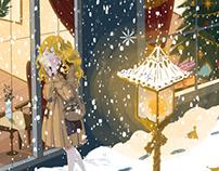 童话(卖火柴的小女孩,长发公主)