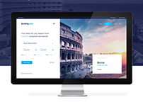 Booking.com - Homepage redesign concept.