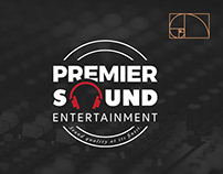 Premier Sound Entertainment Logo Design