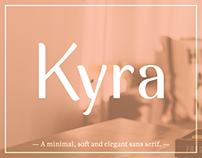 Kyra typeface