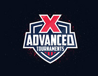 Advanced Tournaments logo design