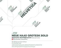 Helvetica Map