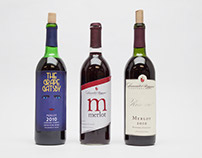 Packaging: Wine Label Packaging Design Project