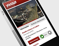 Youcast app for Android cellphones and iPhone