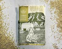TAIWAN rice packaging 台灣台東鹿野鄉好米!