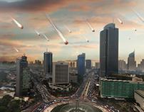 Today, Fallen Star Will Befall Jakarta