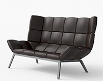 Leather Sofa CL03