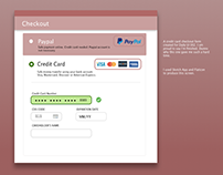 Daily UI 02 - Credit Card Form