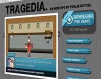 Tragedia Site Design