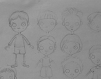 Sketch characters