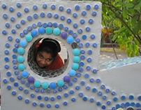 Sensory playground for differently abled children