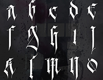 Contemporary Gothic Alphabet