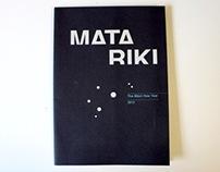 Matariki 2012 Calendar & Pocketmod Booklet