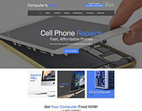 Computer Repair Html5 Website Template