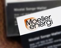 Moeller Energi logo design