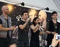 The Script: Meet and Greet at Bugis Junction