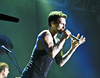 Maroon 5 Overexposed Tour at the Singapore Grand Prix