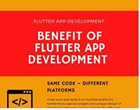 BENEFIT OF FLUTTER APP DEVELOPMENT - INFOGRAPHICS