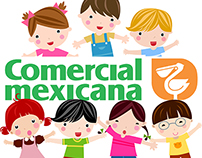 Kids wear design for Commercial Mexicana