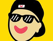 My happy face. (Profile)
