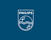 Landing Page. Promo site Philips