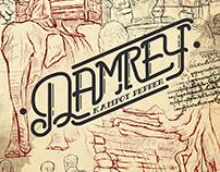 Damrey Kampot Pepper Branding