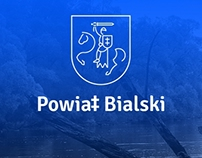 Powiat Bialski: logo –unofficial