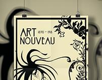 Pôster Art Nouveau
