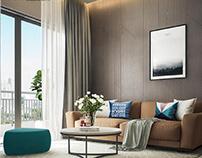Thiết kế căn hộ chung cư Vinhome Central Park diện tích