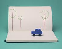 MOLESKINE-LEGO Pitch