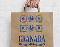 Ilustraciones de la cerámica típica de Granada.