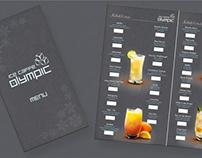 Caffe Menu design & print