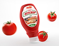 Ketchup bottle packaging - Vital