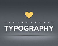 love's typography ♥