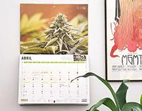 THC Moon Phases Calendar