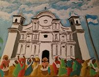 Honduran heritage painting