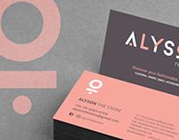 ALYSON The Store - Branding